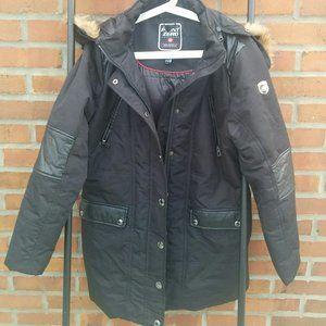 Point Zero Women Warm Winter Coat XL Black